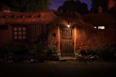 Pueblo de Santa Fe Imágenes de archivo libres de regalías