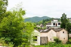 Pueblo de Shimen Fotos de archivo libres de regalías