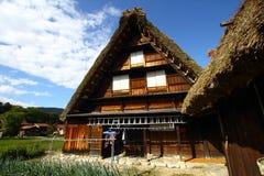 Pueblo de Shirakawago, Japón Foto de archivo libre de regalías