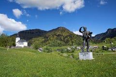 Pueblo de Sorica, Eslovenia Imagen de archivo