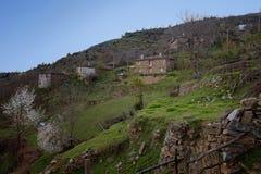 Pueblo de Spoluka, Rhodopes del este, Bulgaria Imagen de archivo libre de regalías