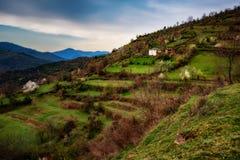 Pueblo de Spoluka, Rhodopes del este, Bulgaria Fotos de archivo
