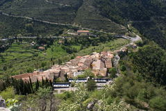 Pueblo de St Inés imagenes de archivo
