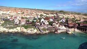Pueblo de Sweethaven en la isla mediterránea de Malta