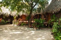 Pueblo de Tiki Imagen de archivo libre de regalías