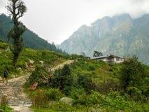 Pueblo de Timang - Nepal Imagenes de archivo