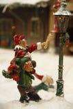 Pueblo de Toy Christmas Imagen de archivo libre de regalías