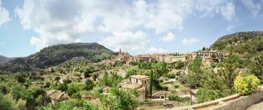 Pueblo de Valldemossa Imagen de archivo libre de regalías