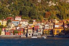 Pueblo de Varenna, lago Como, Italia Fotos de archivo libres de regalías