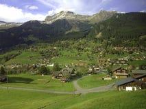 Pueblo de Wengwald Foto de archivo libre de regalías