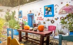 Pueblo de Zia en Kos, Grecia Fotos de archivo libres de regalías