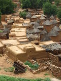 Pueblo del africano de Adobe Foto de archivo libre de regalías