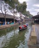 Pueblo del agua de Jiangnan en China Foto de archivo libre de regalías