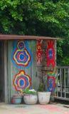 Pueblo del arco iris en Taichung Foto de archivo libre de regalías