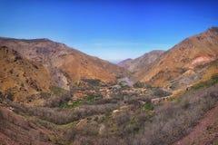 Pueblo del Berber Imagen de archivo libre de regalías