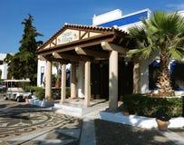 Pueblo del Cretan Fotos de archivo libres de regalías