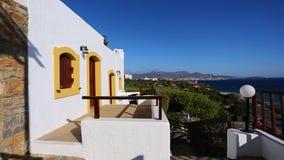 Pueblo del Cretan, Creta almacen de metraje de vídeo