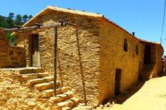 Pueblo del esquisto Foto de archivo libre de regalías