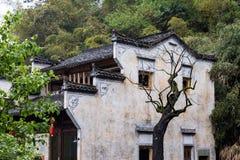 Pueblo del ling de Huang en Wuyuan, Jiangxi, China Imágenes de archivo libres de regalías