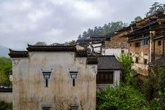 Pueblo del ling de Huang en Wuyuan, Jiangxi, China Fotos de archivo libres de regalías