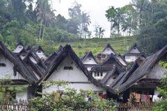 Pueblo del Naga de Kampung Fotos de archivo libres de regalías