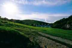 Pueblo del oeste de Lulworth en Dorset imagen de archivo