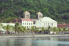 Pueblo del Saint Pierre en Martinica Fotografía de archivo libre de regalías