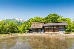pueblo del Shirakawa-knock-out Fotos de archivo