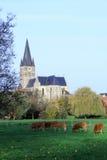 Pueblo del St Michael Church de la espina en Países Bajos Fotografía de archivo