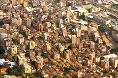 Pueblo del suburbio de la ciudad de Guangzhou Imágenes de archivo libres de regalías