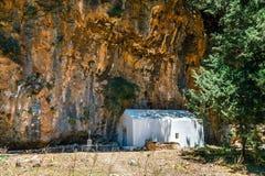 Pueblo desplazado Samaria en Samaria Gorge, Grecia fotografía de archivo libre de regalías