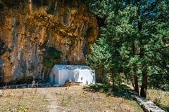 Pueblo desplazado Samaria en Samaria Gorge, Grecia foto de archivo