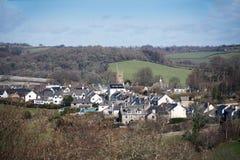 Pueblo Devon de Chagford Imágenes de archivo libres de regalías