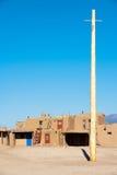 Pueblo di Taos immagine stock