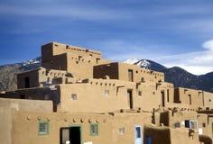 Pueblo di Taos Immagini Stock