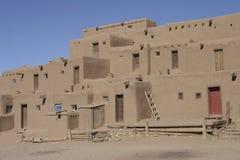 Pueblo di Taos, New Mexico Fotografie Stock