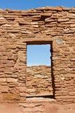 Pueblo Doorway Royalty Free Stock Photography