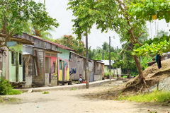 Pueblo en Esmeralda Region Fotos de archivo libres de regalías