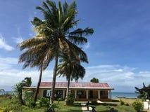 Pueblo en Fiji imagen de archivo