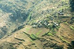 Pueblo en mA pi Leng Imagen de archivo libre de regalías