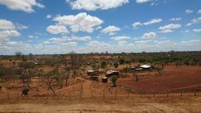 Pueblo en Savanah Foto de archivo