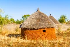 Pueblo en Sudán Imagen de archivo libre de regalías