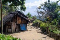 Pueblo en valle del PA del Sa Imagenes de archivo
