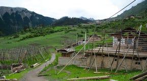 Pueblo en Zhagana Fotos de archivo libres de regalías