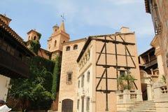Pueblo Espanol de l'intérieur Image stock