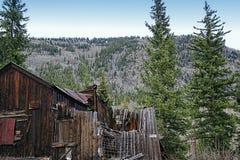 Pueblo fantasma Imagenes de archivo