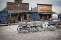 Pueblo fantasma, Cody, Wyoming, Estados Unidos Foto de archivo