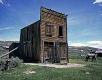 Pueblo fantasma de Bodie imagen de archivo