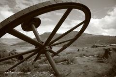 Pueblo fantasma de Bodie fotografía de archivo libre de regalías