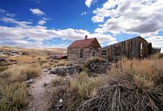 Pueblo fantasma de Bodie Fotos de archivo